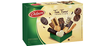 Delacre - pack - Tea Time 500g